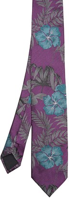 Ted Baker Tropical Floral Skinny Tie $105 thestylecure.com