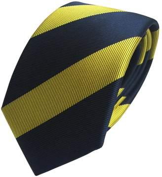 FASINUO Mens Classic Skinny Tie 6cm/2.4'' New Fashion Woven Silk Neckties