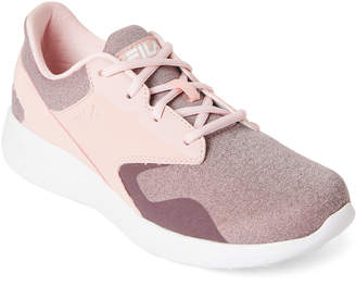Fila Pink & Mauve Layers Peak Sneakers