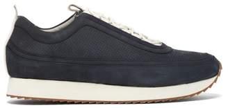 Grenson Sneaker 12 Suede Trainers - Mens - Navy