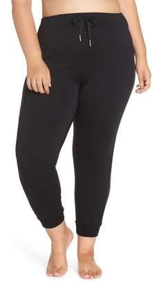 Beyond Yoga Shine On High Rise Tuxedo Jogger Pants