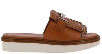 Tod's Flat Sandals Shoes Women