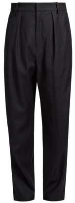Etoile Isabel Marant Nimura wide-leg checked wool trousers