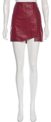 Leith Leather Mini Skirt