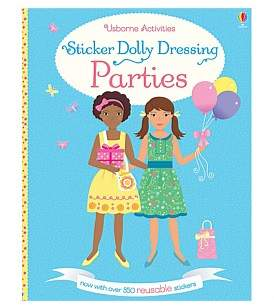 Harper Collins Sticker Dolly Dressing Parties