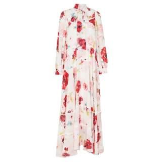 Camilla And Marc Leroux Long Sleeve Maxi Dress