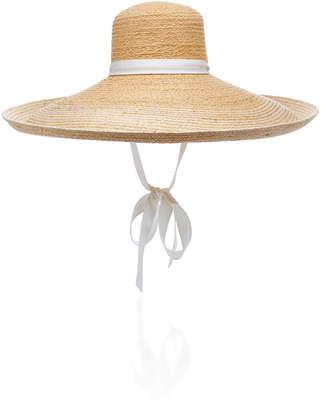 Lola Hats Nomad Bis Wide-Brim Raffia Hat