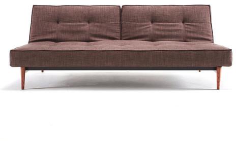 Innovation Split Back Sofa Brown