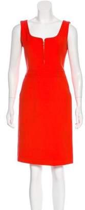 Tory Burch Sleeveless Wool-Blend Dress
