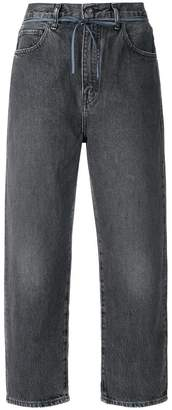 Levi's Made & Crafted wide leg cropped jeans