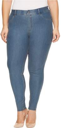 Hue Women's Plus Size Essential Denim Leggings