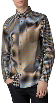 Ben Sherman Core House Gingham Cotton Sport Shirt