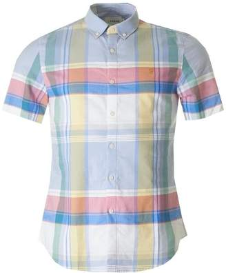 Farah Croxted Check Short Sleeved Shirt