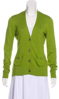 Tory Burch Long Sleeve Cardigan Sweater