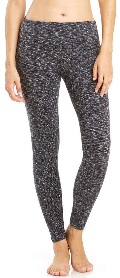 Women's Balance Collection Space-Dye Flat Waist Yoga Leggings