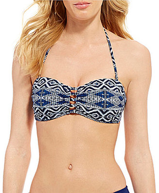 La Blanca Designer Jeans Bandeau Bra $69 thestylecure.com