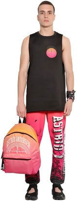 Oversized Neoprene Basketball Tank Top