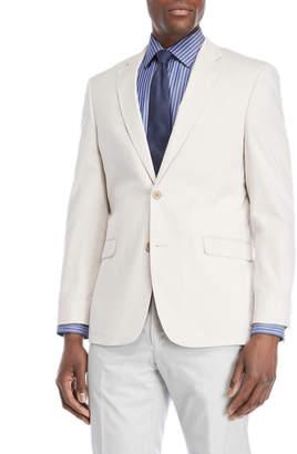 Tommy Hilfiger Tan Pincord Trevor Stretch Suit Jacket