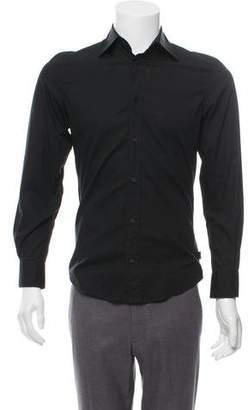 Just Cavalli Tonal Striped Dress Shirt