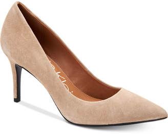 Calvin Klein Women's Gayle Pointed Toe Pumps Women's Shoes