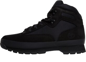 Timberland Mens Euro Hiker Boots Black