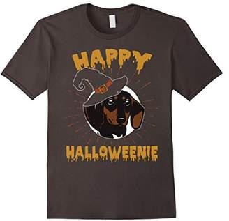 Happy Halloweenie T-shirt Funny Wiener Dachshund Dog Gifts