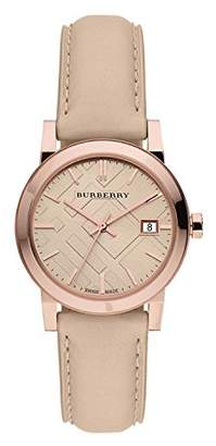 Burberry Women's BU9109 Leather Strap Watch