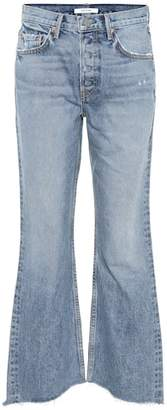 GRLFRND Dahl high-waisted flared jeans