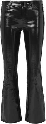 J Brand Selena Patent Leather Crop Pants
