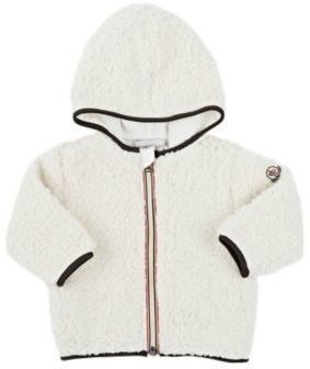 Moncler Faux Shearling Jacket-CREAM $235 thestylecure.com