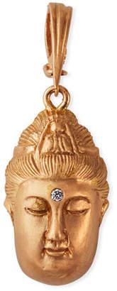 Dominique Cohen 18k Rose Gold Buddha Enhancer w/ Diamond