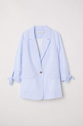 H&M Seersucker Jacket - Blue
