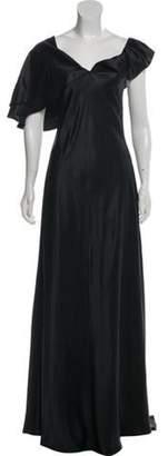 Saint Laurent Silk Sleeveless Dress w/ Tags black Silk Sleeveless Dress w/ Tags