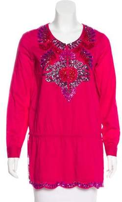 Antik Batik Embellished Long Sleeve Tunic