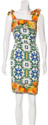 Dolce & Gabbana 2016 Majolica Dress w/ Tags
