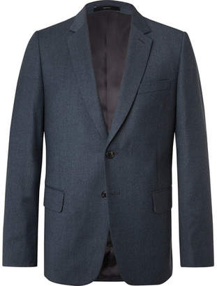 Slim-Fit Wool And Cashmere-Blend Flannel Suit Jacket
