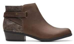 Clarks Leather & Suede Chukka Boots