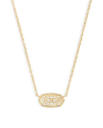 Kendra Scott Elisa Pendant Necklace in Filigree