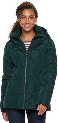 ZeroXposur Women's Suki Hooded Quilted Heavyweight Jacket