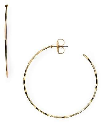 Robert Lee Morris Soho Hammered Hoop Earrings