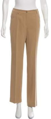Akris Mid-Rise Wool Pants w/ Tags Sand Mid-Rise Wool Pants w/ Tags