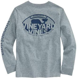 Vineyard Vines Boys Long-Sleeve Gridiron Pocket T-Shirt