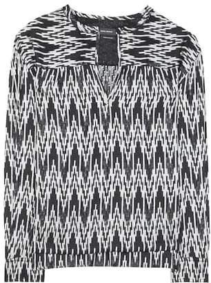 Isabel Marant Gaomi printed shirt