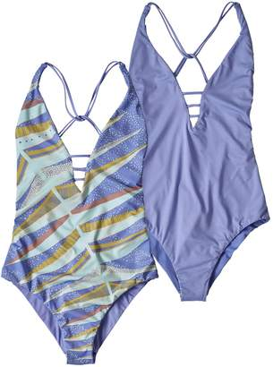 Patagonia Women's Reversible Extended Break One-Piece Swimsuit