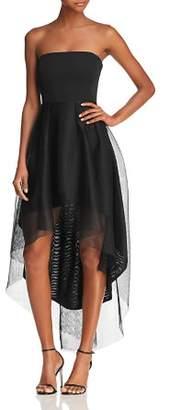 Elliatt Elysian Strapless High/Low Cocktail Dress
