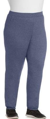 Just My Size Women's Plus-Size Fleece Sweatpants, Available in Regular and Petite Lengths