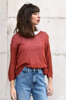 Sita Murt 191901 Burnt Orange Sweater - 40