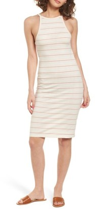 Women's Obey Tuesday Stripe Dress $46 thestylecure.com