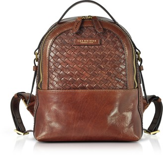 The Bridge Salinger Woven Leather Women's Backpack