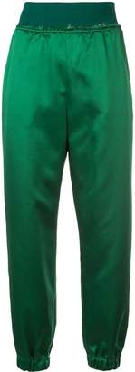Undercover high waisted track pants